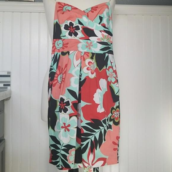 840e9fa7396 Teeze Me Hot Tropic Juniors Floral-Print Dress NWT